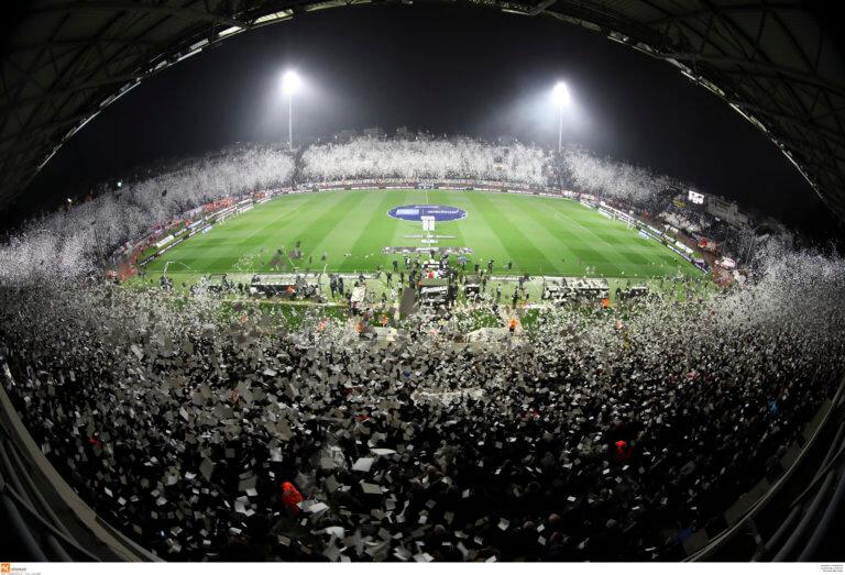 ΠΑΟΚ – Ολυμπιακός: Εισιτήρια μόνο μέσω internet!