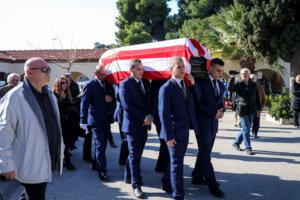 Με τη σημαία του Ολυμπιακού κηδεύτηκε ο Αντώνης Ποσειδών! pics