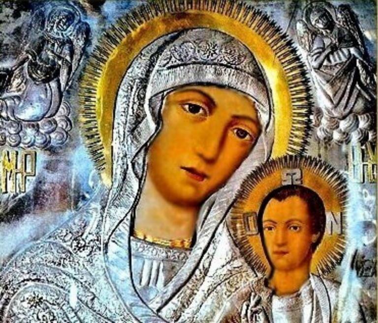 Θαυμάστε τη σπανιότερη εικόνα της Παναγίας με τον Χριστό από απόκρυφο ευαγγέλιο