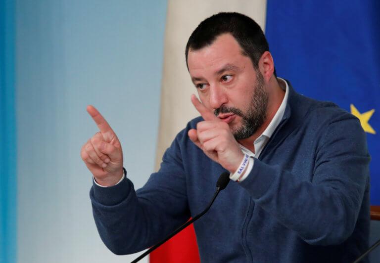 Σαλβίνι: Δεν θέλουμε να χαλάσουν οι σχέσεις της Ιταλίας με τη Γαλλία