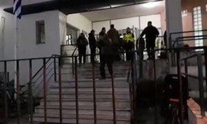 Σέρρες: Δέκα προσαγωγές για διαμαρτυρίες σε ομιλία του Παπαδημούλη