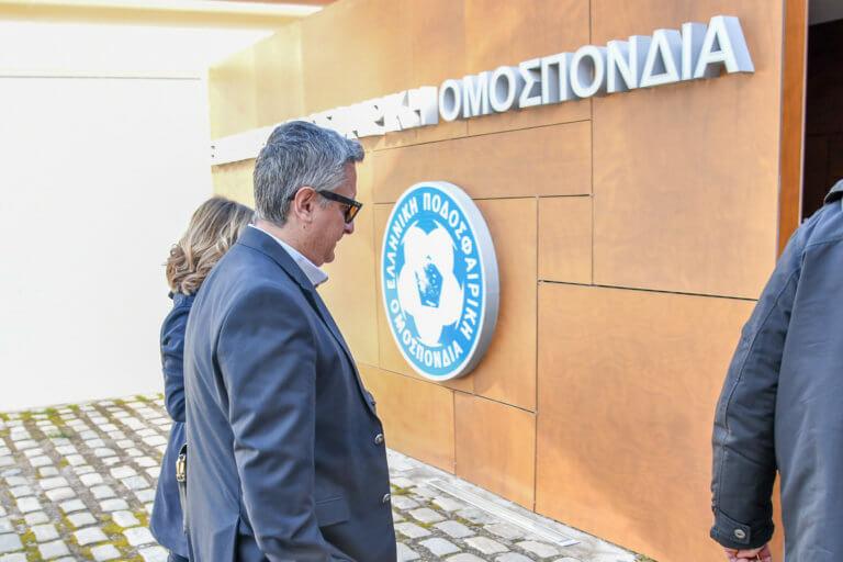Ατρόμητος: Συνάντηση Σπανού με Χούμπελ για τη διαιτησία