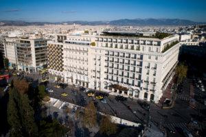 Εκκενώθηκε η Εθνική Τράπεζα στο Σύνταγμα μετά από τηλεφώνημα για βόμβα