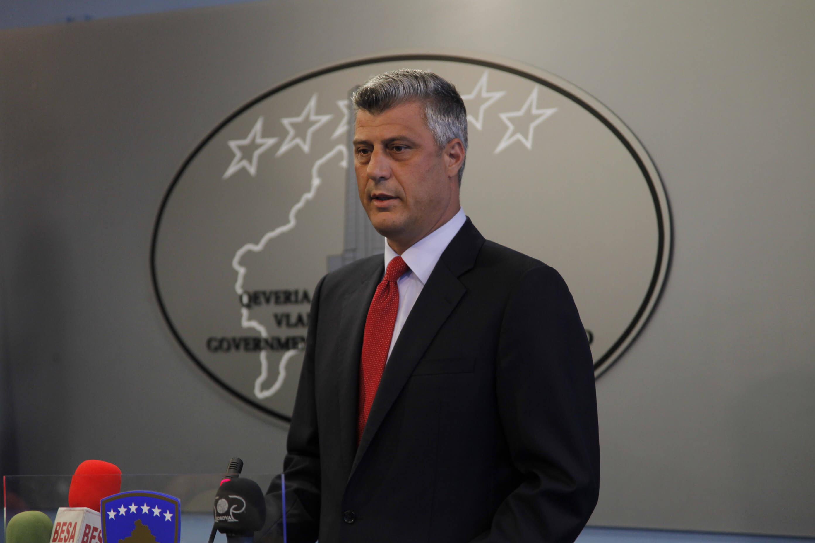 Κόσοβο: Μικρή αλλαγή συνόρων δέχεται ο Θάτσι