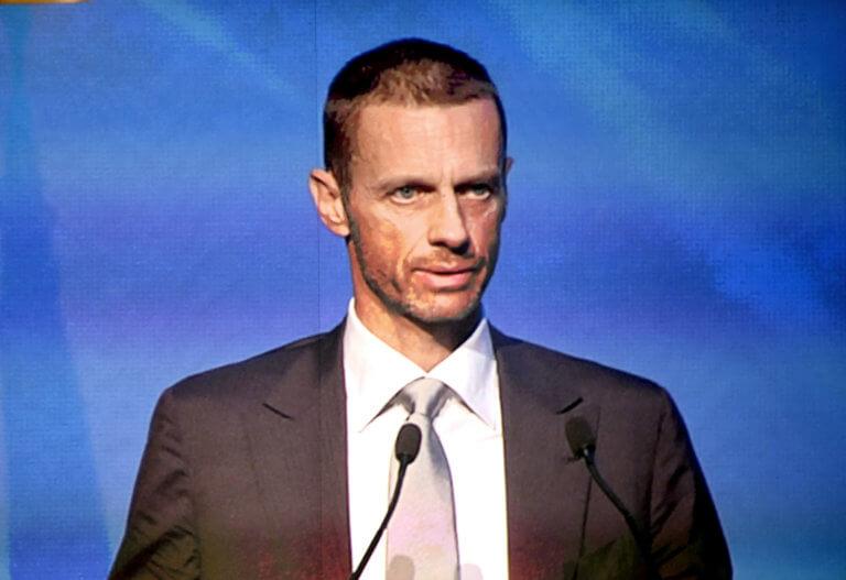 Ο Τσέφεριν επανεξελέγη στην προεδρία της UEFA!