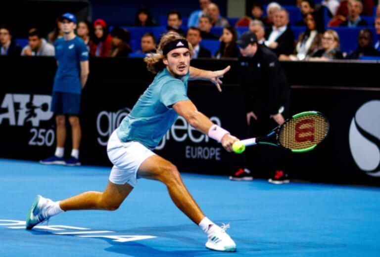 """Ο Στέφανος Τσιτσιπάς στο """"Tennis with the stars""""!"""
