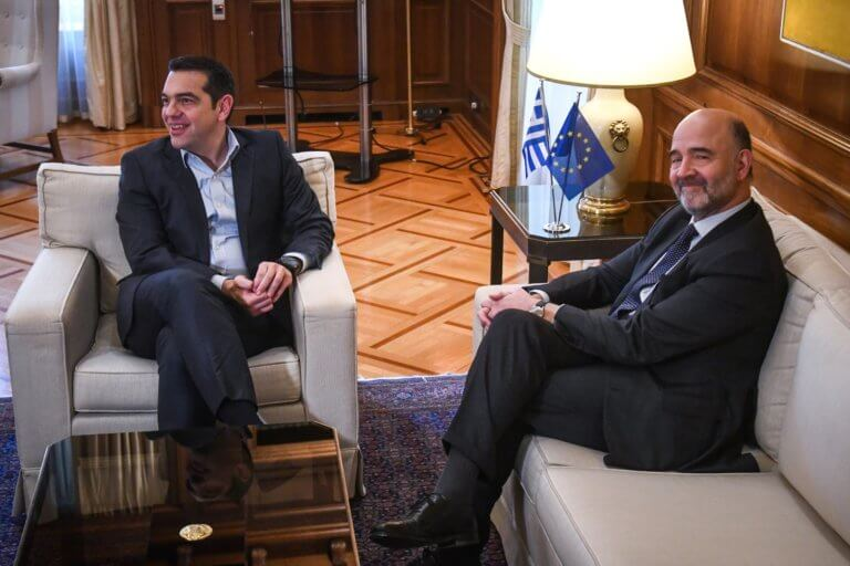 Στην Αθήνα ο Ευρωπαίος Επίτροπος Οικονομίας και Φορολογίας, Πιέρ Μοσκοβισί