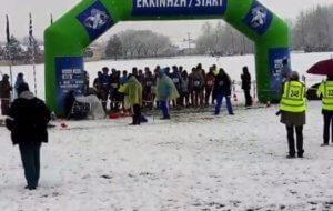 """""""Ωκεανίς"""": Σε χιονισμένο τοπίο το Πανελλήνιο πρωτάθλημα σε ανώμαλο έδαφος! [videos, pics]"""