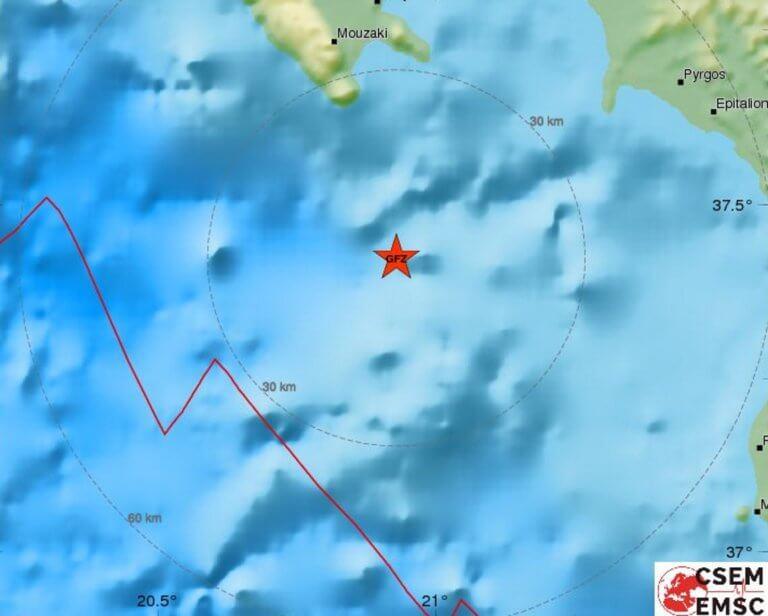 Σεισμός 4,3 Ρίχτερ κοντά στη Ζάκυνθο – Χωρίς ζημιές η δόνηση στη Λακωνία | Newsit.gr