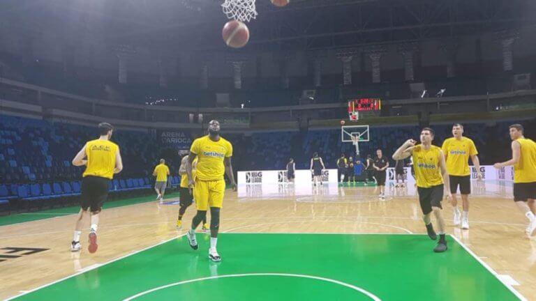 ΑΕΚ: Η πρώτη προπόνηση στο Carioca Arena 1 [pics] | Newsit.gr