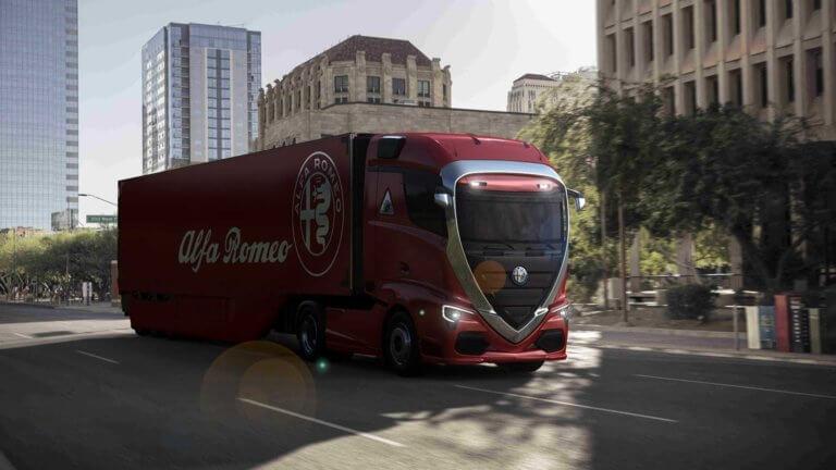 Αν η Alfa Romeo αποφάσιζε να φτιάξει φορτηγά, θα ήταν απλά πανέμορφα!!! [pics]