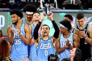All Star Game: Η Team USA νίκησε την Team World! Φοβερός ο Κούζμα – video