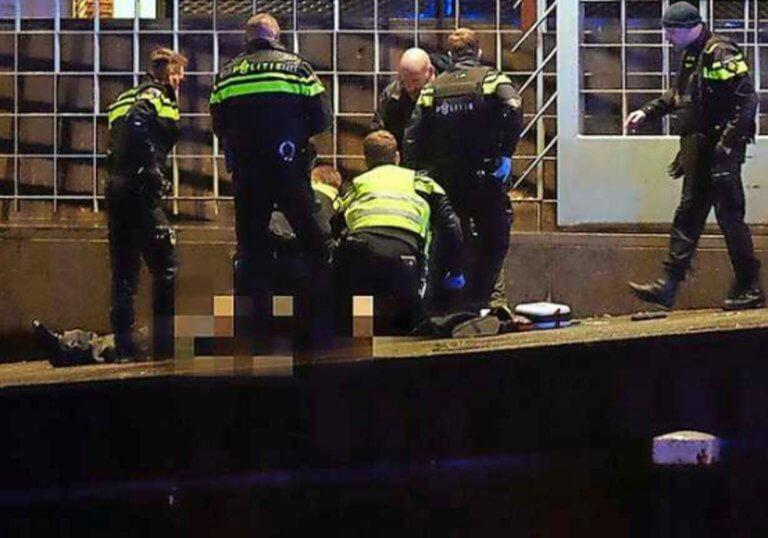 """Συναγερμός στο Άμστερνταμ! """"Βροχή"""" πυροβολισμών και ένας νεκρός στο κτίριο της κεντρικής τράπεζας! video"""