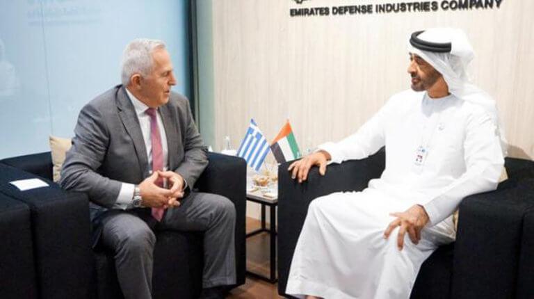 «Έκλεισε» σημαντική συμφωνία της ΕΑΒ με τα Ηνωμένα Αραβικά Εμιράτα! | Newsit.gr