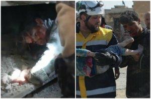 Συρία: Δύο εικόνες ντροπής για την ανθρωπότητα