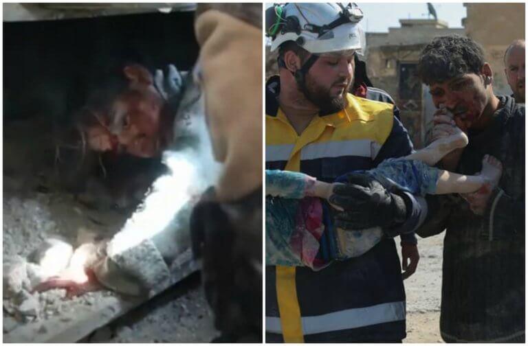 Συρία: Δύο εικόνες ντροπής για την ανθρωπότητα | Newsit.gr