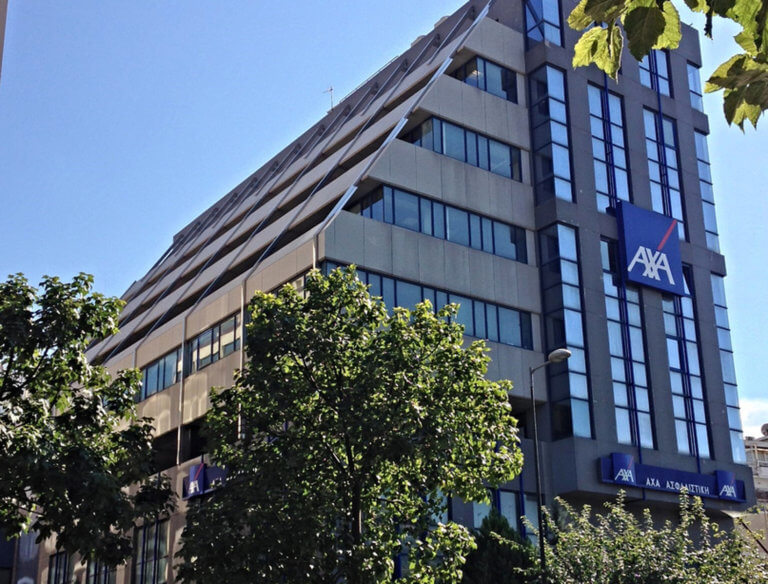 Επίθεση στα γραφεία της ΑXA Ασφαλιστικής στην Μιχαλακοπούλου | Newsit.gr