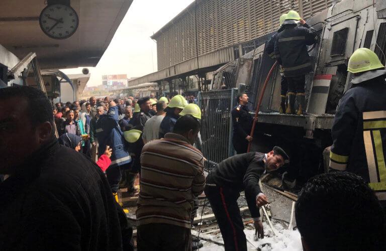 Κάιρο: Νεκροί και τραυματίες στον σιδηροδρομικό σταθμό | Newsit.gr
