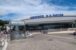 Έκλεισε λόγω φωτιάς το αεροδρόμιο Τσιαμπίνο της Ρώμης