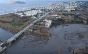 Κρήτη: Το drone της απόλυτης καταστροφής – Εικόνες αποκάλυψης σε Χανιά και Ρέθυμνο – video