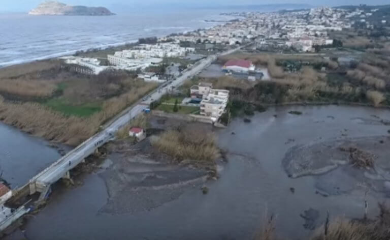 Κρήτη: Το drone της απόλυτης καταστροφής – Εικόνες αποκάλυψης σε Χανιά και Ρέθυμνο – video | Newsit.gr
