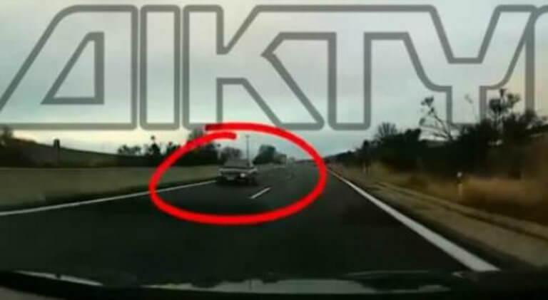 """Εγνατία Οδός: Οδηγούσε """"του σκοτωμού"""" στο αντίθετο ρεύμα – Απίστευτες σκηνές στις Σέρρες – video"""