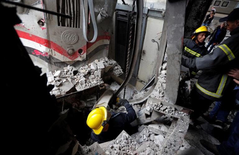 Κάιρο: 22 οι νεκροί από την φωτιά στον σιδηροδρομικό σταθμό