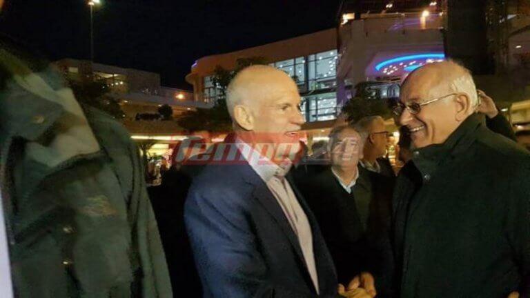 Αποθέωσαν τον Γιώργο Παπανδρέου σε εκδήλωση για τον πατέρα του – video   Newsit.gr