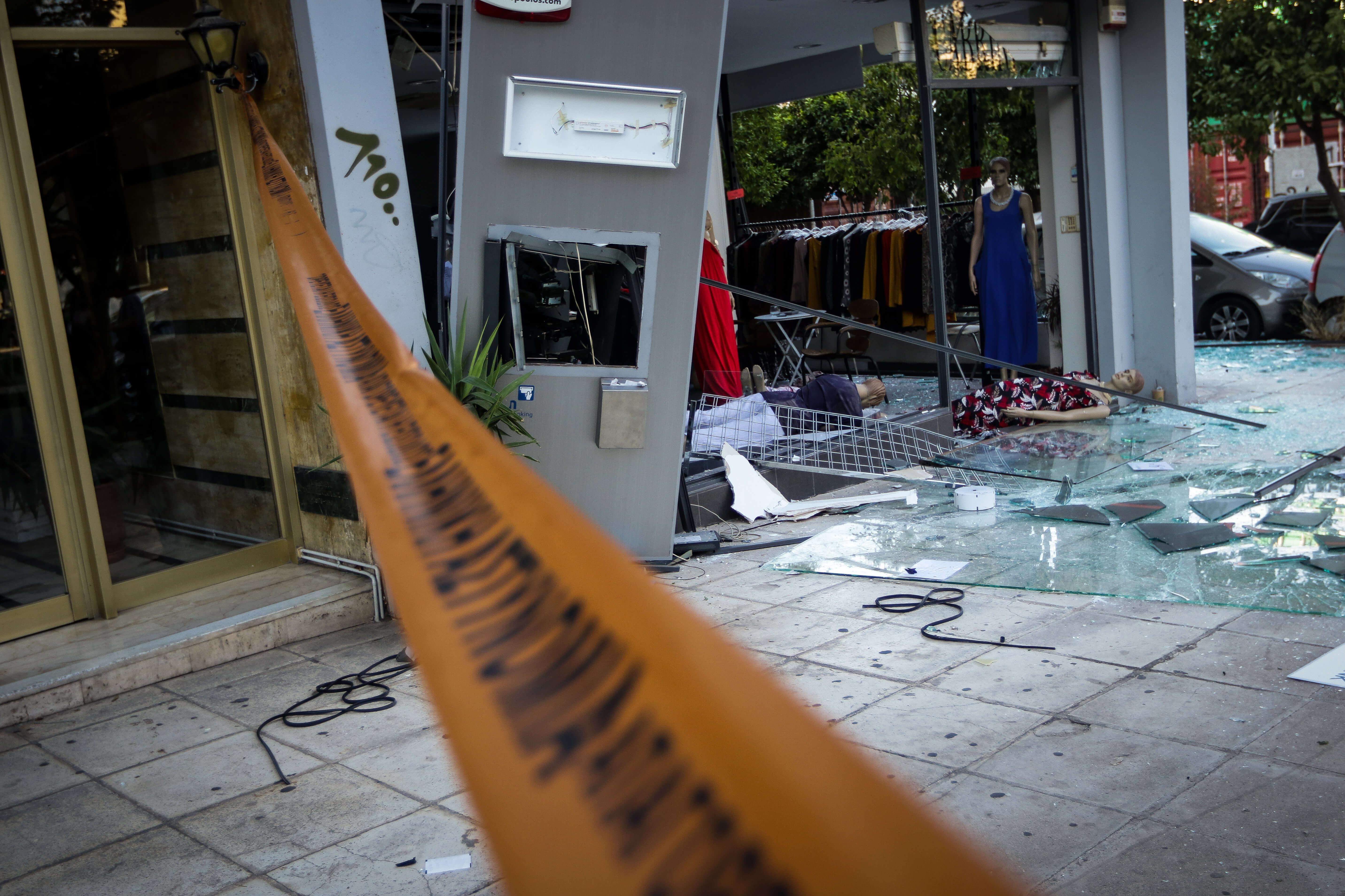 Ρέθυμνο: Το ΑΤΜ άντεξε την έκρηξη – Οι δράστες έφυγαν από το σημείο με άδεια χέρια!