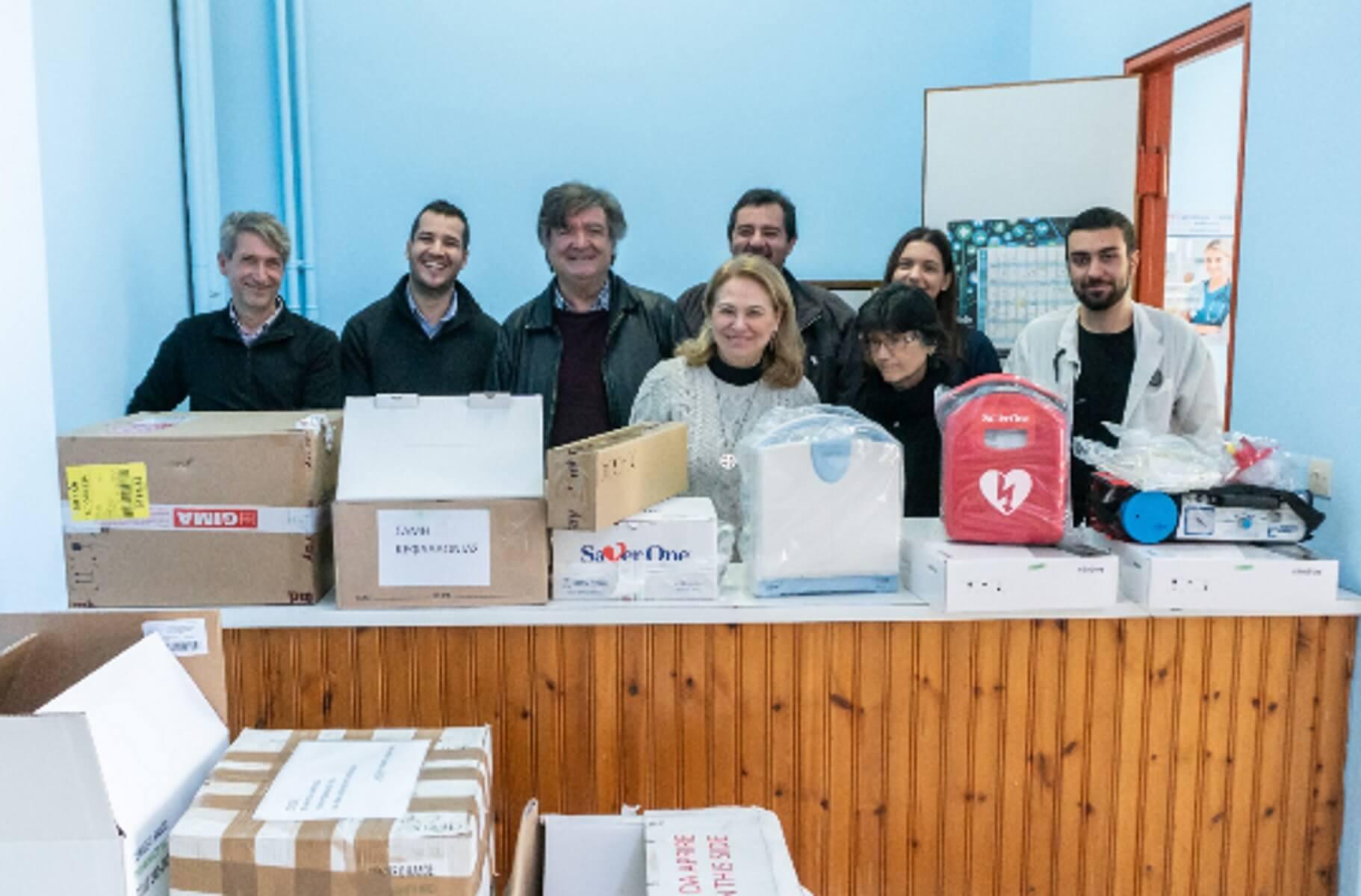 Τα ΕΛΠΕ εξοπλίζουν τα Κέντρα Υγείας σε Ιθάκη και Σάμη Κεφαλληνίας