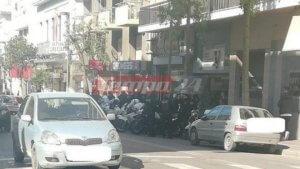 Συγκέντρωση αντιεξουσιαστών έξω από το Διοικητικό Εφετείο της Πάτρας