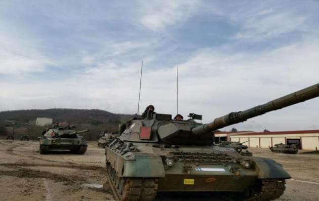"""""""Αστραπή"""" στις θέσεις επιφυλακής οι επίλεκτες μονάδες του Στρατού Ξηράς σε επιχειρησιακή άσκηση [pics]"""