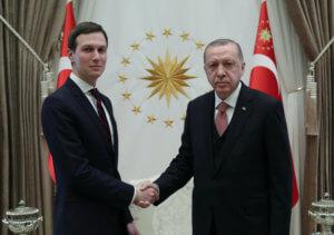 Τουρκία: Συνάντηση Ερντογάν με τον γαμπρό του Τραμπ [pics]