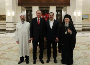 Τι έλεγαν δυο ώρες Τσίπρας – Ερντογάν – Σήμερα η επίσκεψη σε Αγιά Σοφιά και Χάλκη