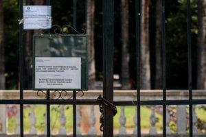 Καιρός: Κλειστός και ο Εθνικός Κήπος λόγω των θυελλωδών ανέμων! [pics]