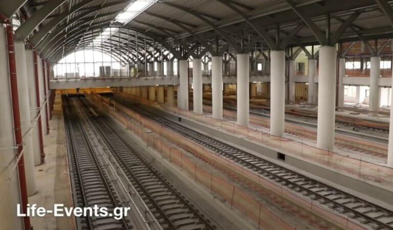 Η Θεσσαλονίκη ετοιμάζεται να υποδεχθεί τον πρώτο συρμό του μετρό!