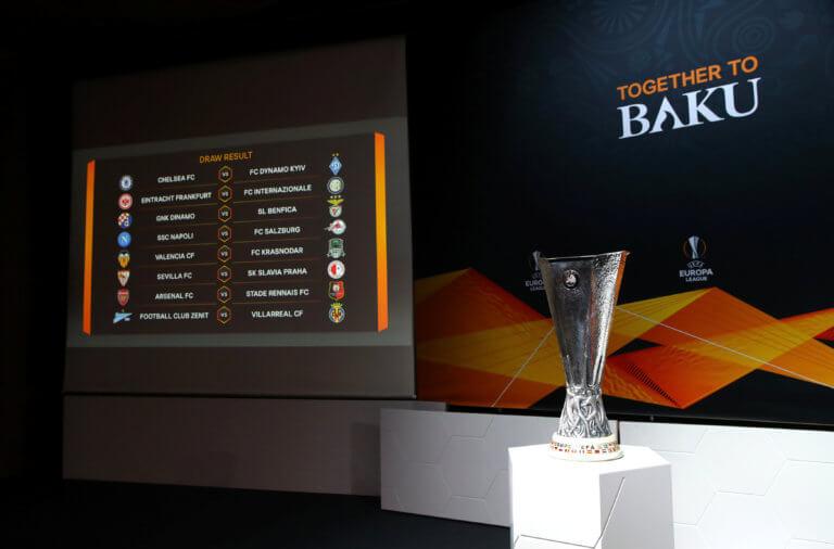"Europa League: Αυτά είναι τα ζευγάρια των ""16"""