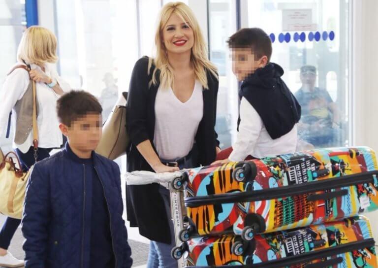 Φαίη Σκορδά: Απόδραση εκτός Αττικής με τους γιους της, Γιάννη και Δημήτρη! (pic) | Newsit.gr