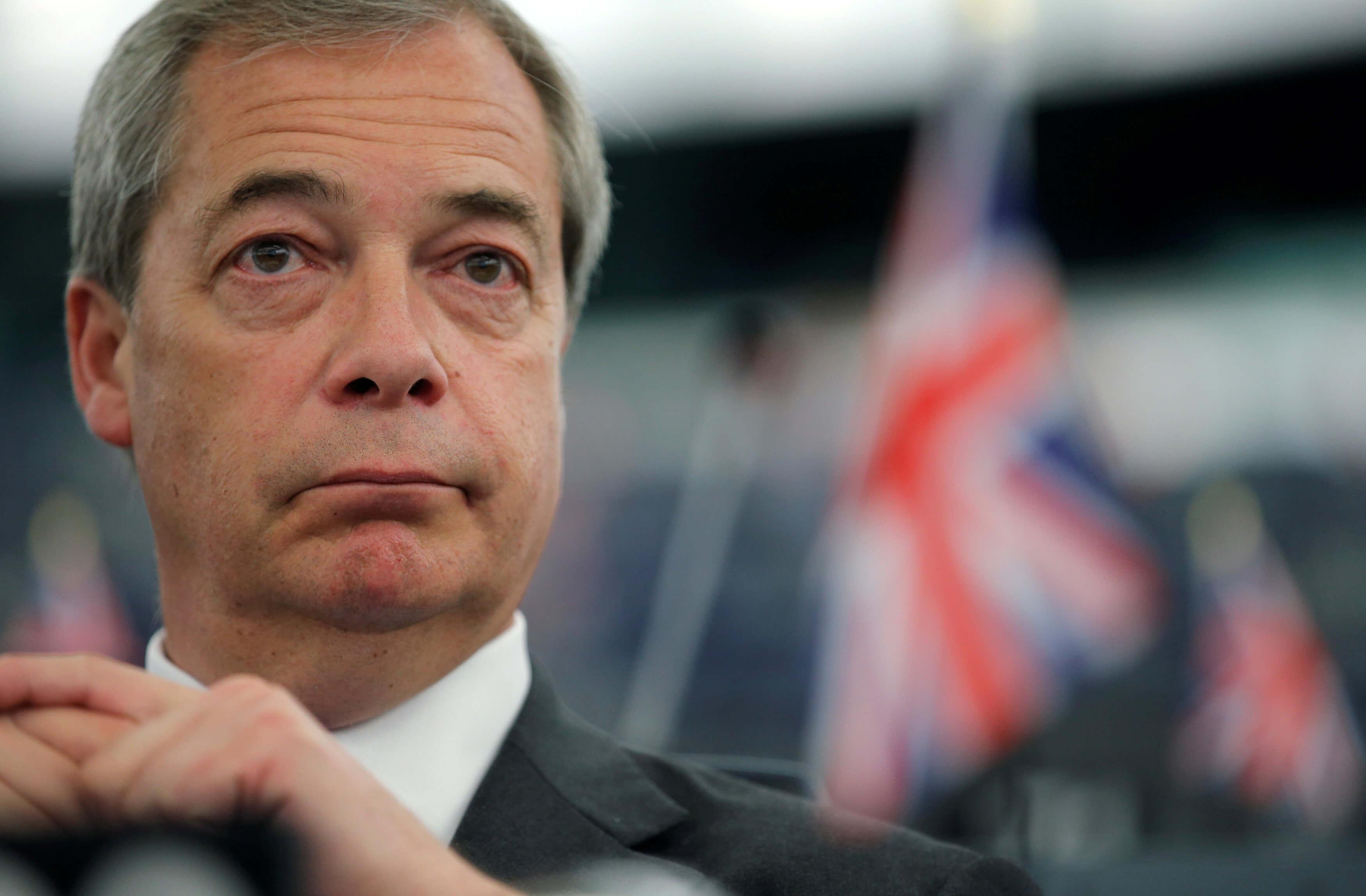 """""""Κόμμα για το Brexit"""" κατεβαίνει στις εκλογές με την στήριξη του Φάρατζ"""