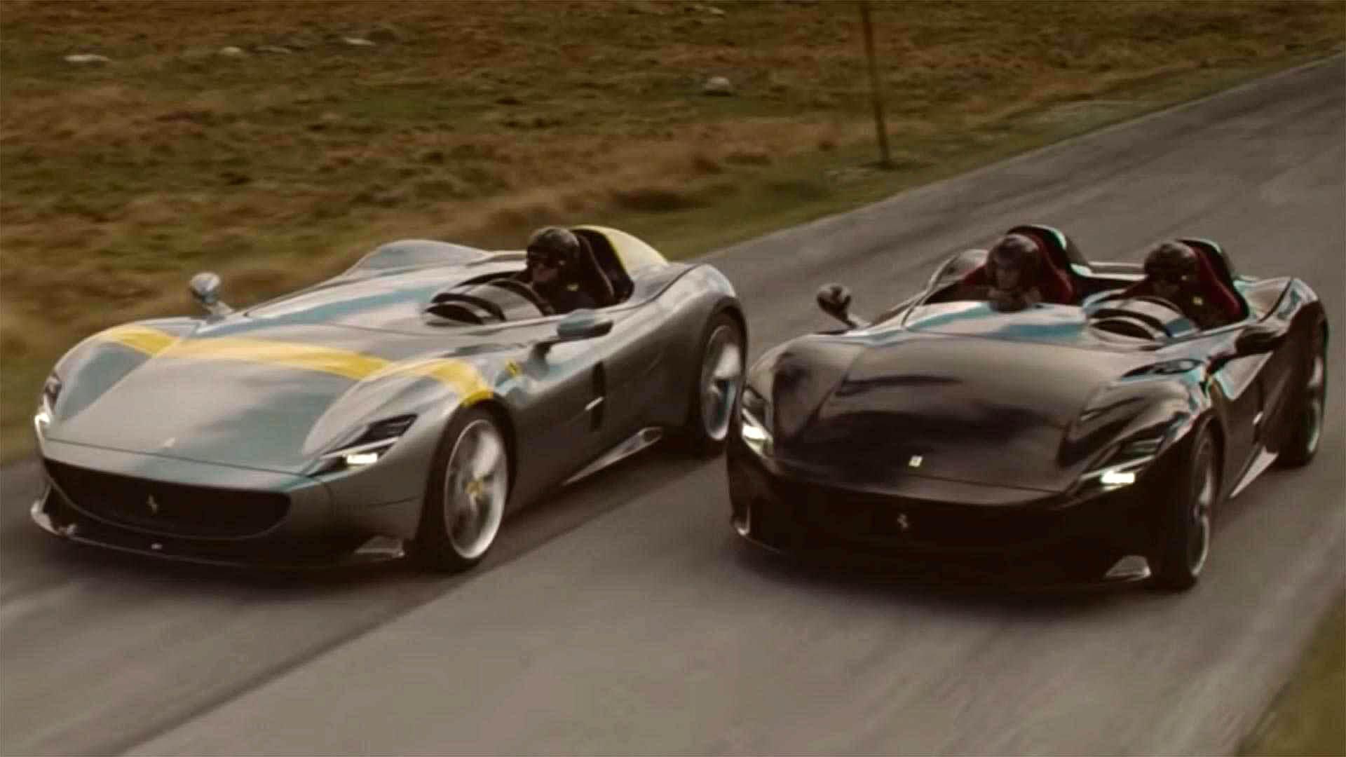 Απολαύστε τις μοναδικές Ferrari Monza SP1 και SP2 [vid]