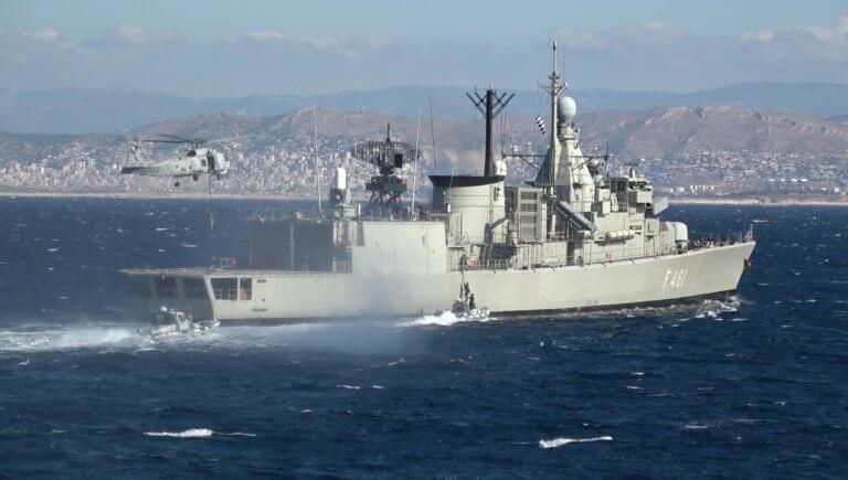 Πένθος στο Πολεμικό Ναυτικό: Νεκρός εν ώρα καθήκοντος υπαξιωματικός της φρεγάτας «Ψαρά»