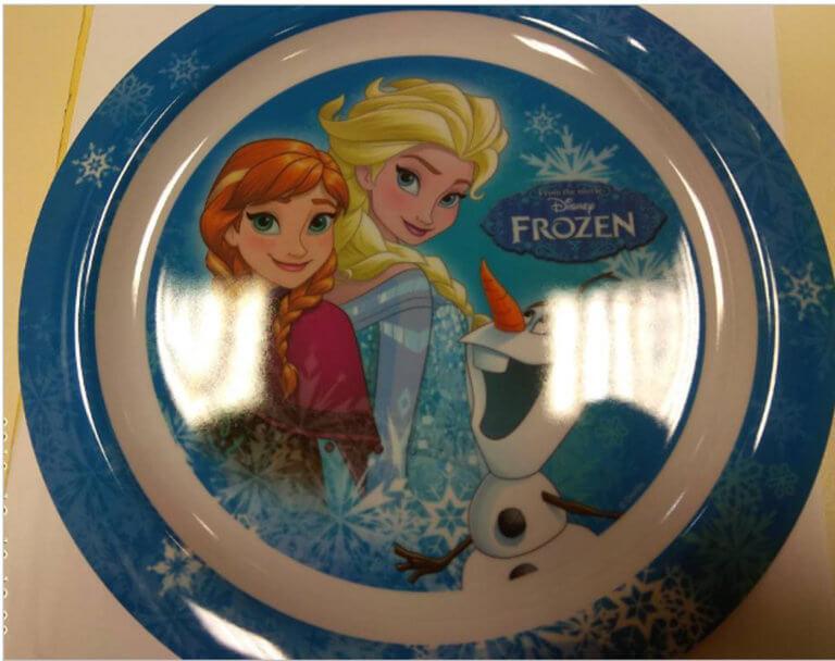 """""""Συναγερμός"""" για πιάτο της ταινίας Frozen! Επικίνδυνο για την υγεία των παιδιών"""