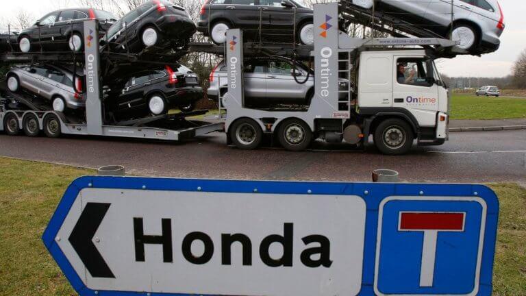 Η Honda θέλει να κλείσει το εργοστάσιό της στο Swindon της Βρετανίας λόγω Brexit