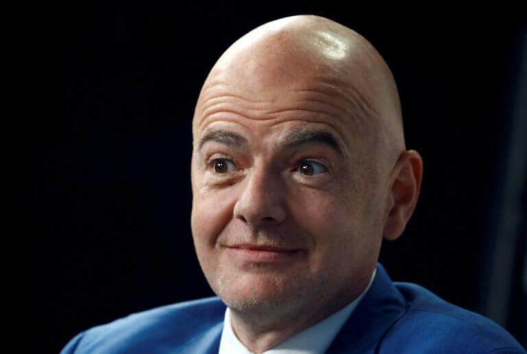 Παίζει… μόνος του για την προεδρία της FIFA ο Ινφαντίνο | Newsit.gr