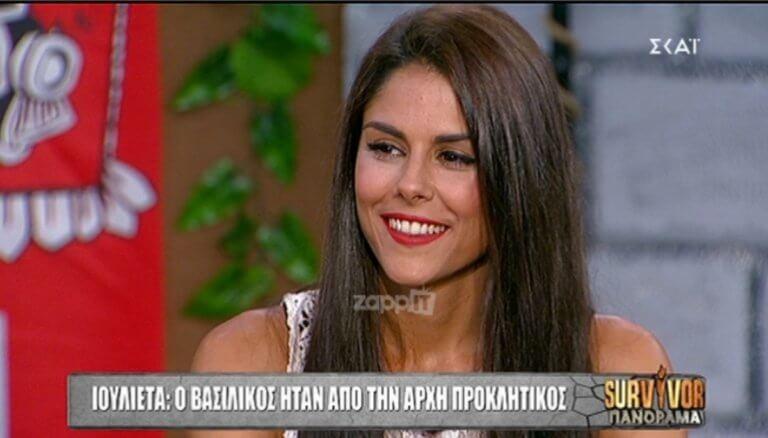 Survivor: Κόλαφος η Ιουλιέτα κατά Βασιλικού! «Ήταν προκλητικός από την αρχή! Είναι ψωνισμένος…» | Newsit.gr