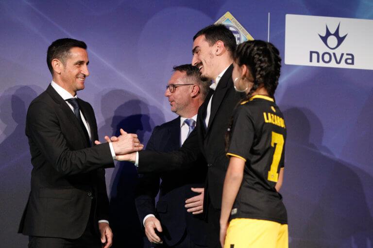 Βραβεία Superleague: Κορυφαίοι Χιμένεθ και Χριστοδουλόπουλος! [pics] | Newsit.gr