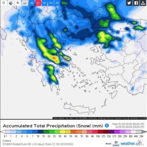 Καιρός – Καλλιάνος reloaded! Ο χιονιάς θα είναι ιστορικός!