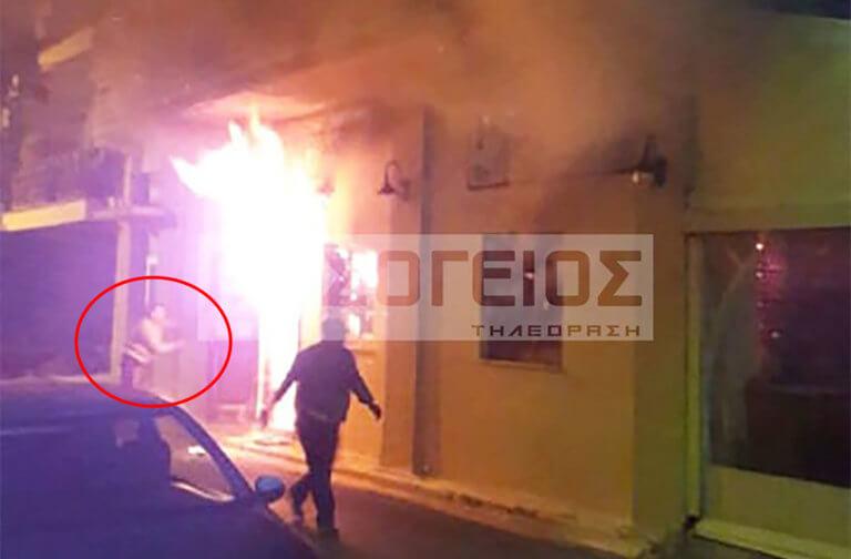 Καλαμάτα: Φωτογραφία ντοκουμέντο από τη στιγμή της ανάφλεξης [pic]   Newsit.gr