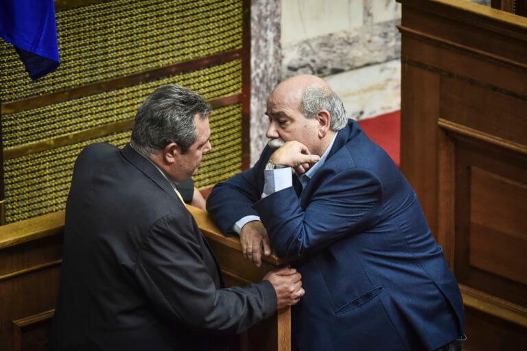 Αιχμές Καμμένου κατά Βούτση: Κακώς λέει ότι ζητούμε γνωμοδότηση του επιστημονικού συμβουλίου | Newsit.gr