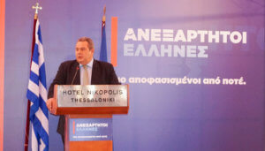 Καμμένος: Αντιδημοκρατική προσπάθεια για να πάρουν από τους ΑΝΕΛ την κοινοβουλευτική ομάδα
